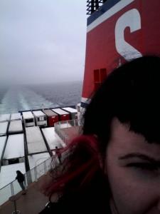 on a boat bitch